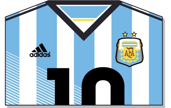 Fifa-World-Cup-Brazil-2014-Argentina-Jersey-t-shirt-design