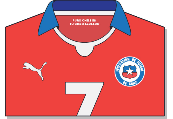 Fifa-World-Cup-Brazil-2014-Chile-Jersey-t-shirt-design
