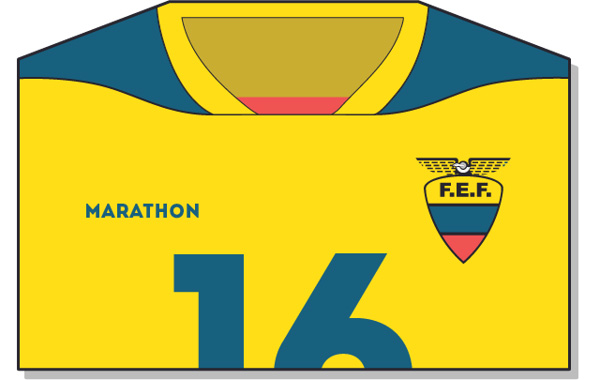 Fifa-World-Cup-Brazil-2014-Ecuador-Jersey-t-shirt-design