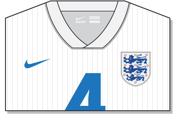 Fifa-World-Cup-Brazil-2014-England-Jersey-t-shirt-design