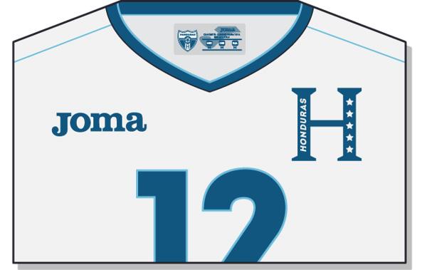 Fifa-World-Cup-Brazil-2014-Honduras-Jersey-t-shirt-design