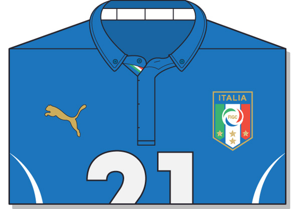 Fifa-World-Cup-Brazil-2014-Italy-Jersey-t-shirt-design