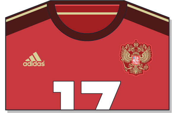 Fifa-World-Cup-Brazil-2014-Russia-Jersey-t-shirt-design