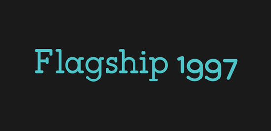 Flagship-Free-Slab-Rounded-Typeface