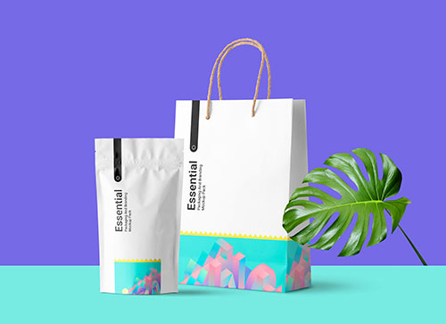 Free-Paper-Shopping-Bag-Plastic-Pouch-Bag-Mockup-PSD