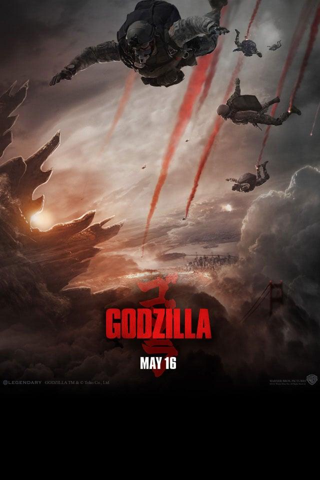 Godzilla Movie 2014 Hd Iphone Amp Ipad Wallpapers