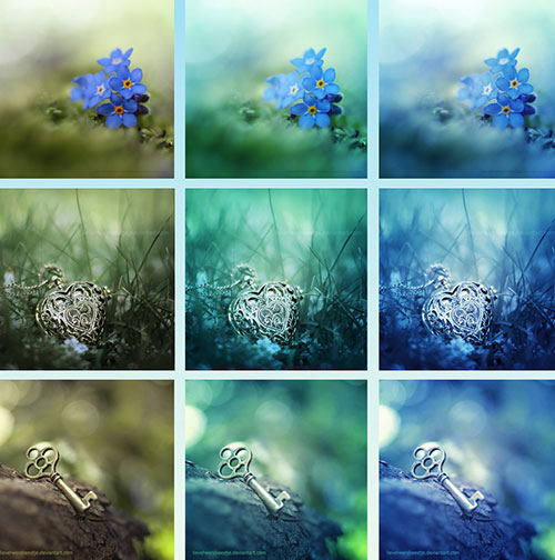 Green and Blue Free PS Actions 100+ My Personal Favorite Free Photoshop Actions for Photo Effects
