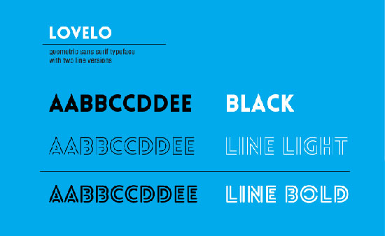 Lovelo-font-free-download