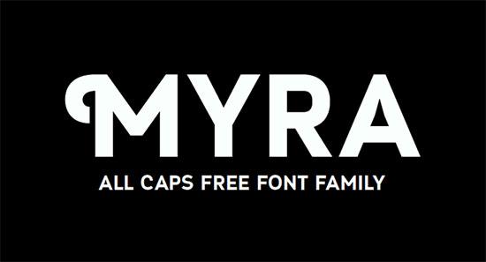 Myra-free-font-download