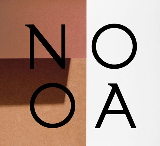 NOOA-Free-Modern-typeface