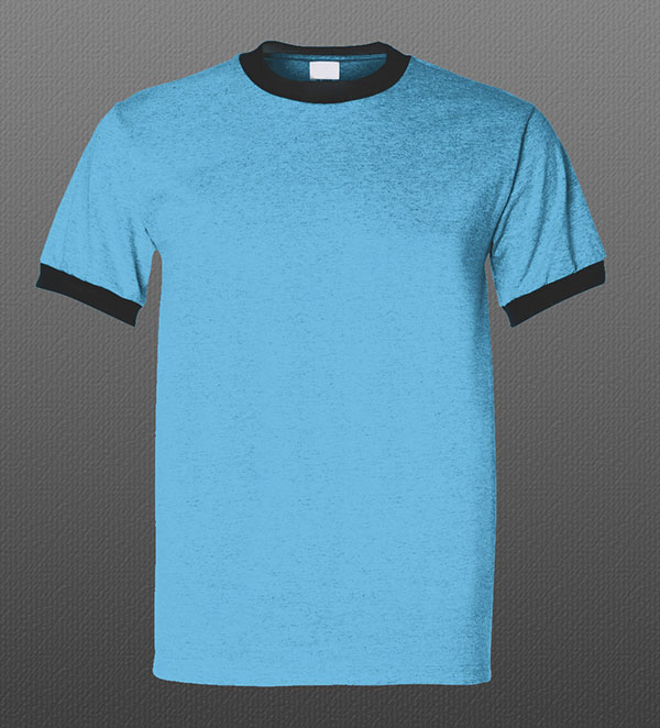 Round-Neck-Free-PSD-Tshirt-Mockup