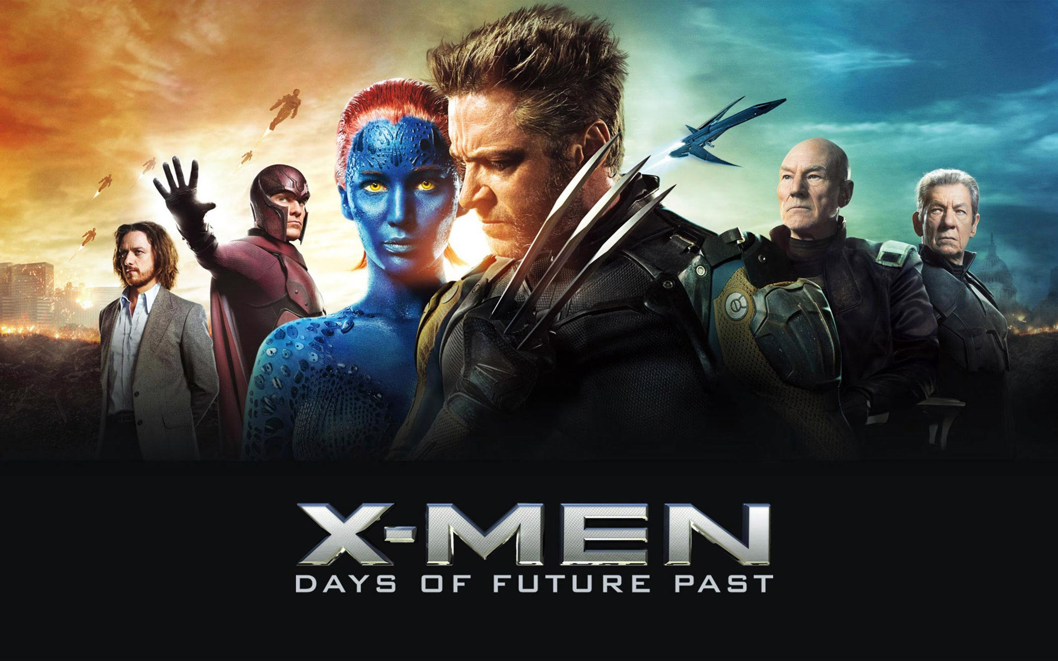 X Men Days Of Future Past Characters Wallpaper