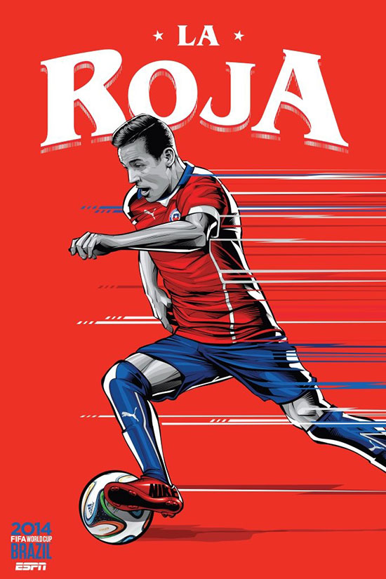 chile-espn-brazil-football-world-cup-2014-poster