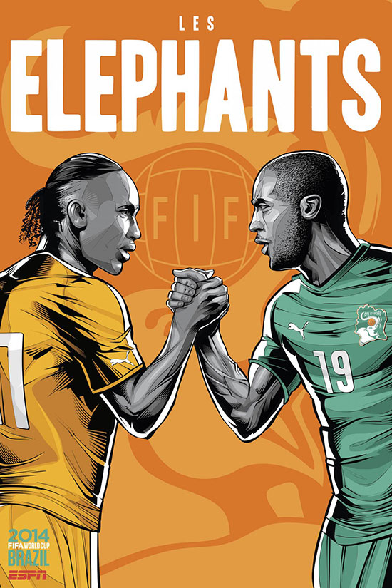 ivory-coast-espn-brazil-football-world-cup-2014-poster
