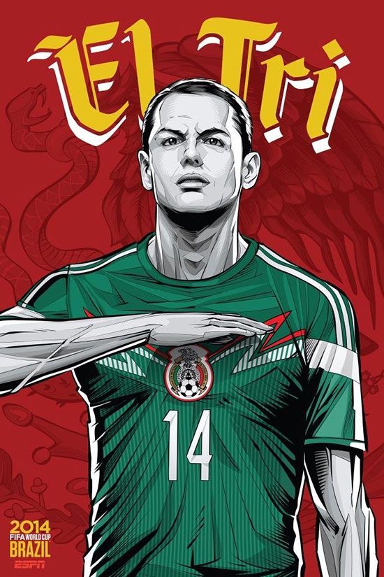 mexico-espn-brazil-football-world-cup-2014-poster