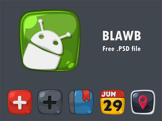 Blawb-free_Cute-icons_psd