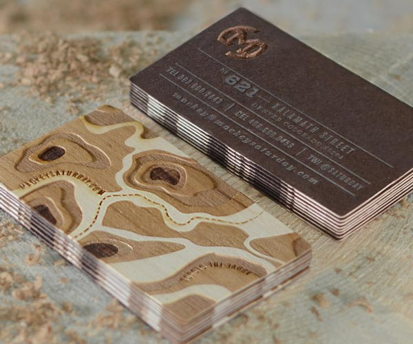 Brown-Business-cards-design-example