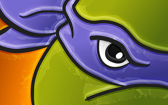 Donatello-TMNT-2014-Wallpaper-Vector