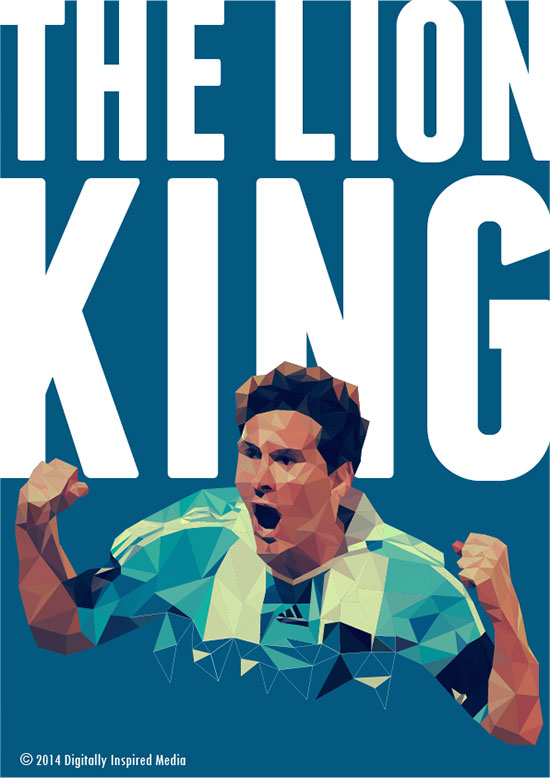 Lionel-Messi-The-Lion-King-World-Cup-2014-poster
