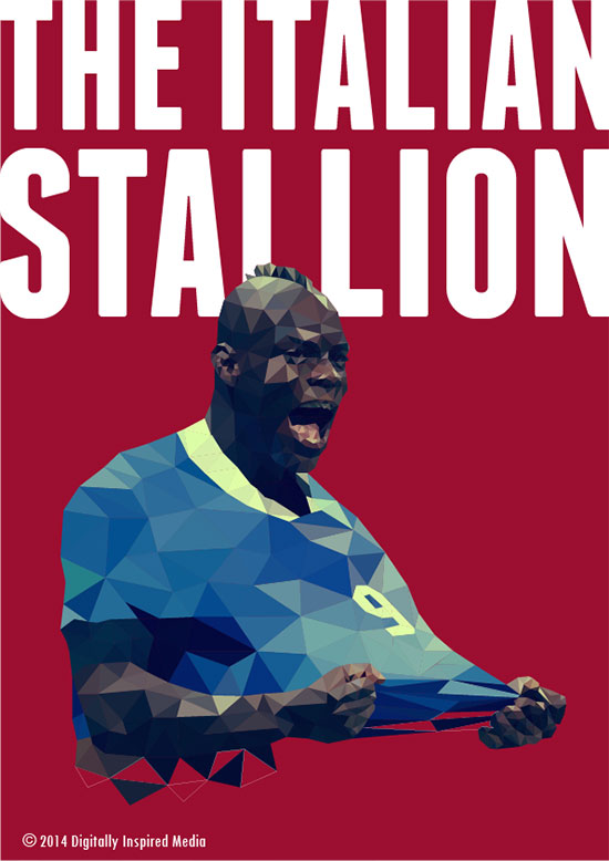Mario-Balotelli-The-Italian-Stallion-World-Cup-2014-poster