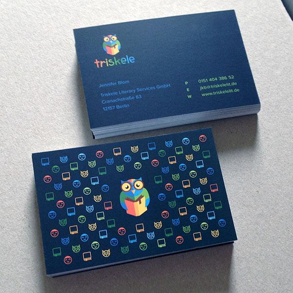 Triskele Biz Card design 30+ Beautiful Examples of Modern Business Card Designs for Inspiration