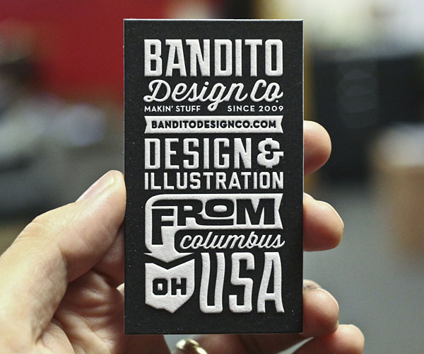 Typography-in-business-card-design