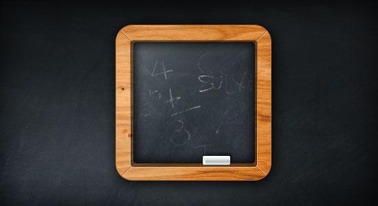 free_chalkboard_psd