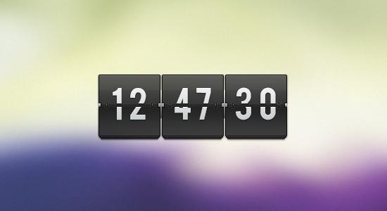 free_clock_ui_psd