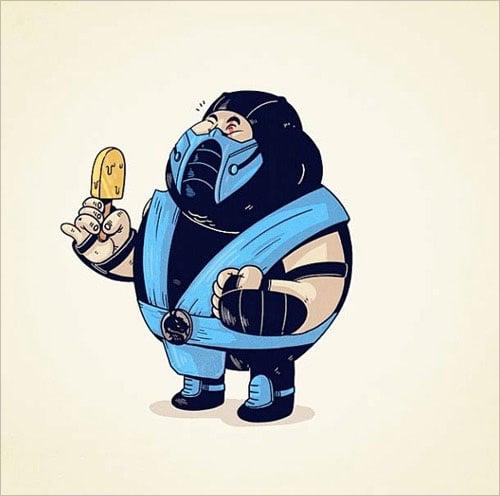 15-sub-zero-mortal-kombat-fat-chunky