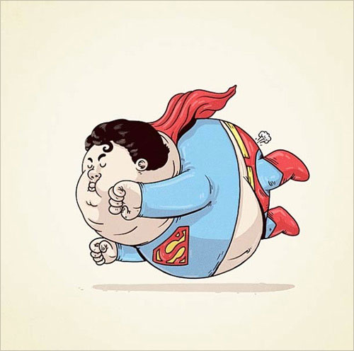 2-superman-character-fat-chunky