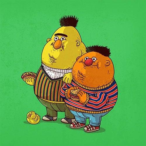 27-Chunky-Bert-&-Chunky-Ernie