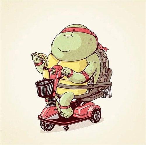 6-ninja-turtle-raphael-fat-chunky