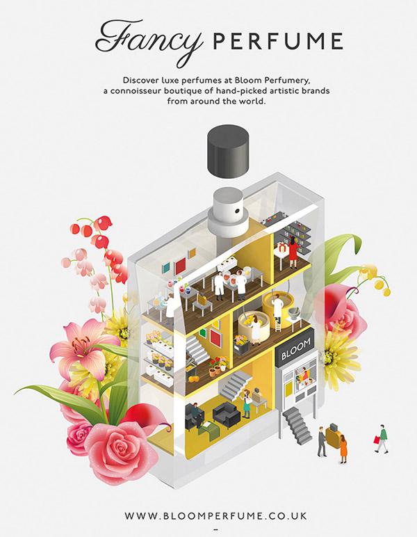 Bloom-perfumery