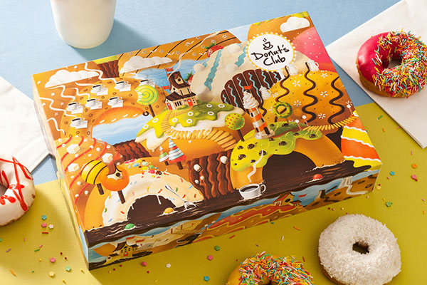 Donut's-Packaging-Design