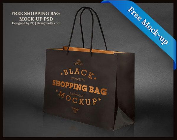 Free-Black-Shpping-Bag-Mockup-PSD