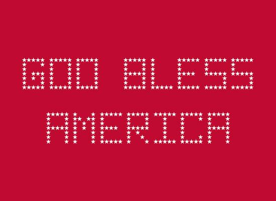 God-Bless-America-free-font