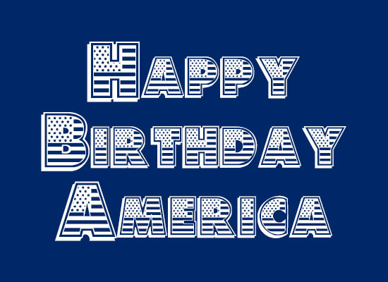 Happy-birthday-America-free-font