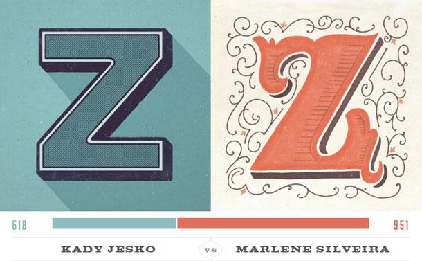 Letter-Z-Type