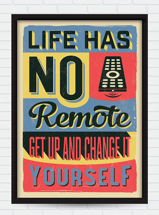 20 Retro Vintage Motivational Typography Quotes