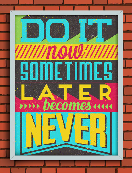 20 Retro Vintage Motivational Typography Quotes