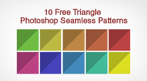10-Free-Triangle-Photoshop-Seamless-Patterns-&-Backgrounds