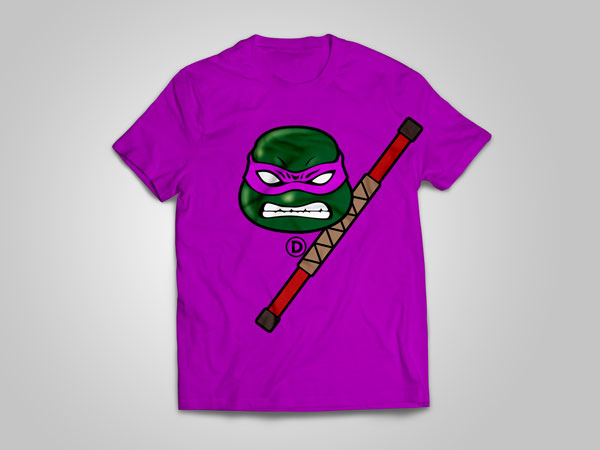Donatello_T-shirt_design_free