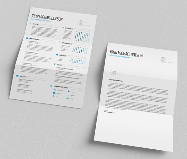 10 best free resume  cv  templates in ai  indesign  u0026 psd formats