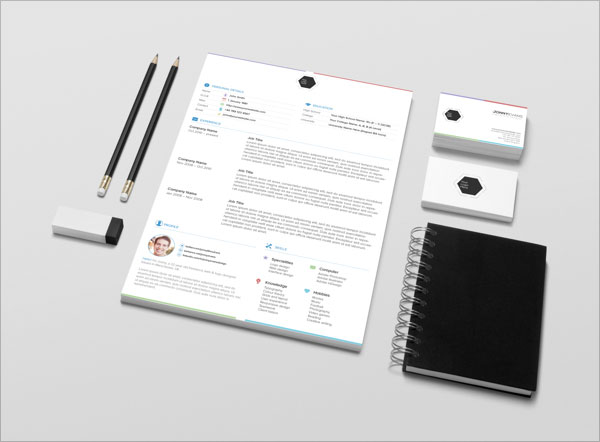 free sample resume template free corporate identity template psd