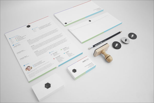 10 best free resume (cv) templates in ai, indesign & psd formats, Presentation templates