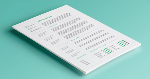 Free_Simple_Resume_Template_2