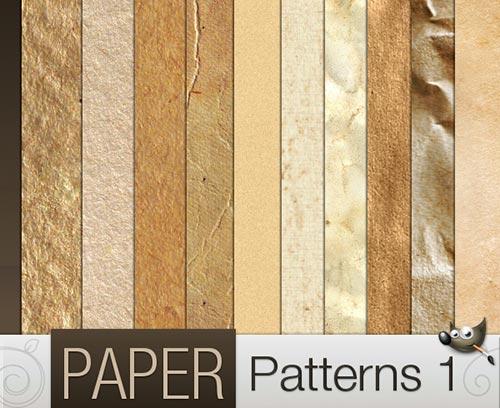 Gimp_Grunge_Paper_Patterns
