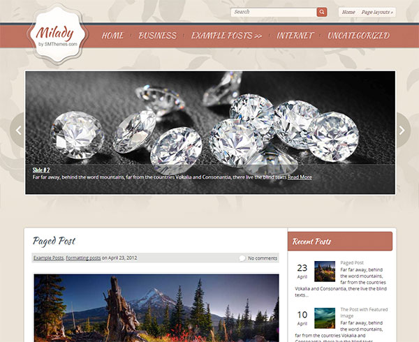 Milady-free-business-wordpress-theme-for-female-designers