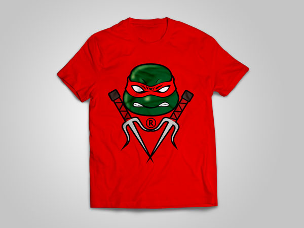 Raphael_T-shirt_design_free