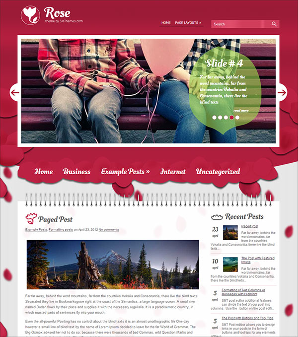 Rose-free-responsive-wordpress-theme-2014